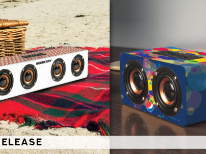 Custom Full Wrap Bluetooth Speakers