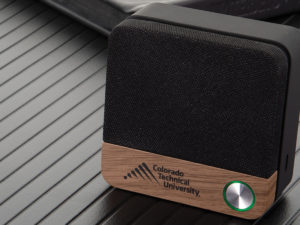 Custom Wood Accented Bluetooth Speaker