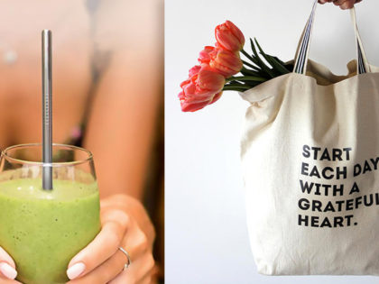 From Reusable Tote Bags, to Water Bottles, to Stainless Steel Straws & More, Go Green With These Top Eco-Friendly Products