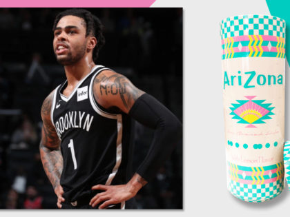 D'Angelo Russell reportedly cited at airport after police found marijuana hidden in container that was made to look like an Arizona Iced Tea can, per USA TODAY – An Arizona Iced Tea Stash Can #CreatedByCaptiv8
