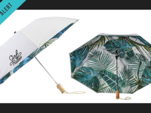 *New Product Alert* – 46″ Palm Trees Auto Open Folding Umbrella