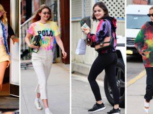 Celebrities Turn Up The Heat In Tie Dye